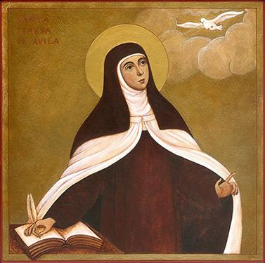 HOY es la FIESTA de Santa Teresa de Jesús