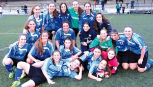 El Pauldarrak juvenil es nuevo campeón de Liga tras golear en casa al Berriotxoa