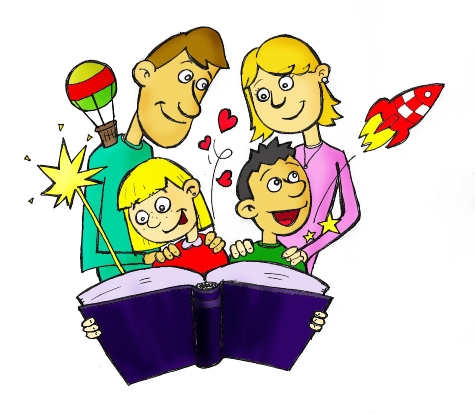 Claves para fomentar la lectura en tus hijos colegio san - Leer la mano hijos ...