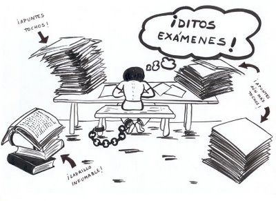 2º BACHILLERATO: Exámenes de la 3ª Evaluación