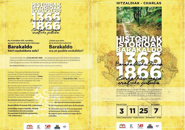 Ciclo de charlas sobre Barakaldo (Martes, 3: Mitxel Olabuenaga)