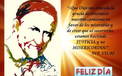 Feliz día de San Vicente de Paúl