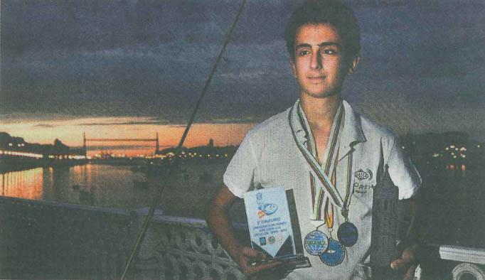 Álvaro Aranda, la promesa de la pesca deportiva bizkaina