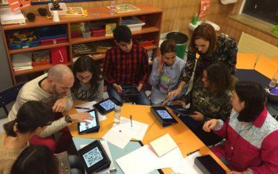 Sesión de formación sobre iPads con Marta Ruiz de La Miranda School