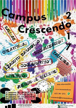 Campus verano Crescendo