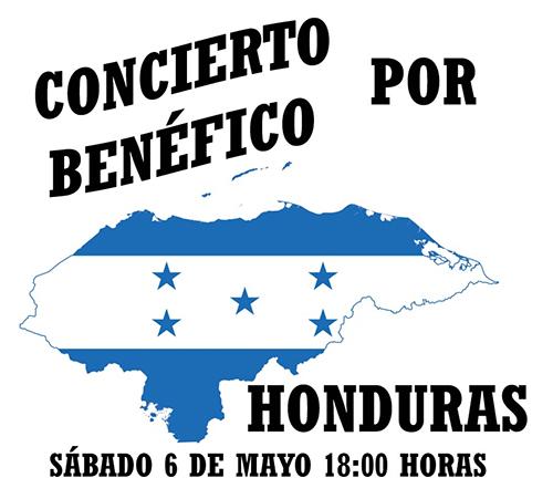 Concierto benéfico por Honduras – 6 de mayo