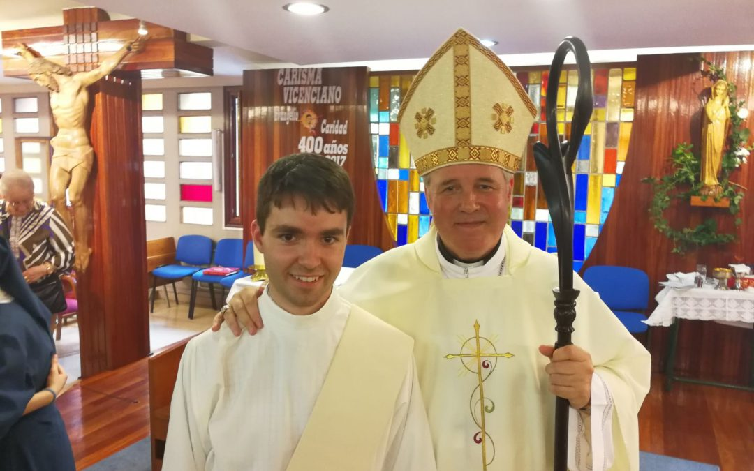 Ordenación diaconal de Iván Juarros Aranguren, CM.