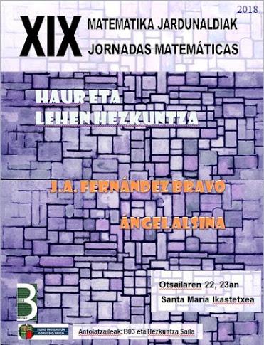 XIX. Matematika Jardunaldiak
