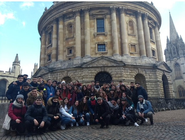 Viaje de inmersión lingüística a Oxford