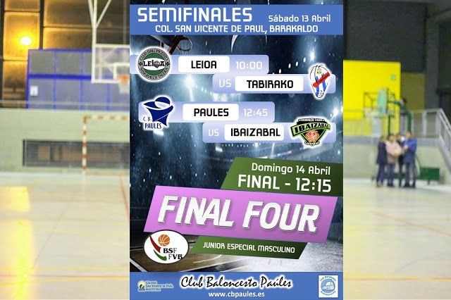Final Four Junior Especial Masculino