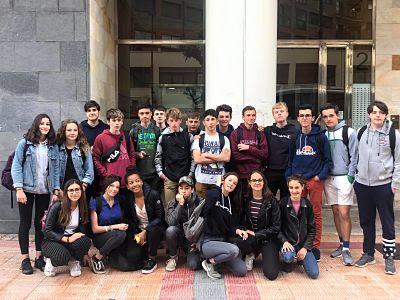 Intercambio lingüístico con alumnado francés