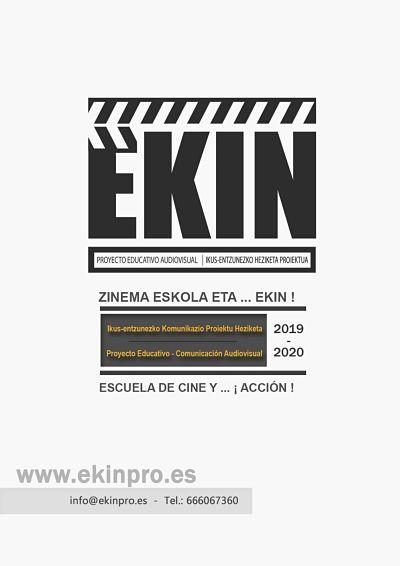 Escuela de Cine y….¡Acción!