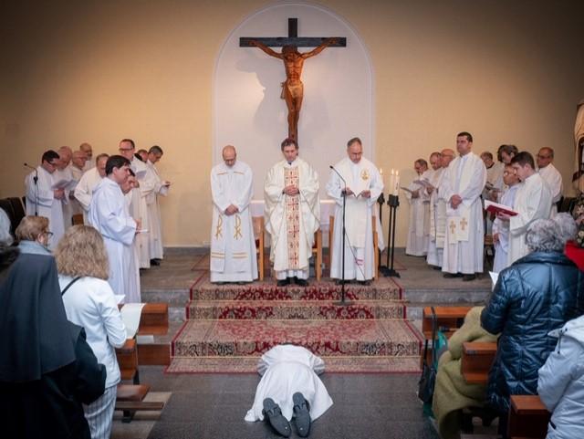 Ordenación diaconal de Aarón Esaú Delgado, c.m.