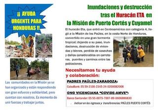 Solidaridad en Honduras y para Honduras